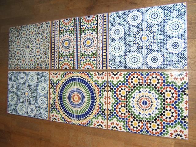 Marokkaanse Tegels Keuken : marokkaanse tegels keukenwand.