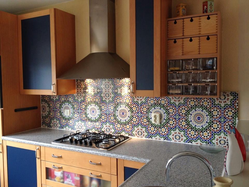 Marokkaanse Tegels Keuken : Creëer een exotische sfeer met tegels interiorbarn